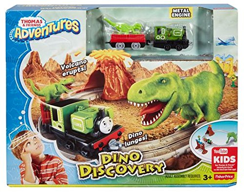 Thomas & Friends FBC67 Adventures Dino Discovery Playset