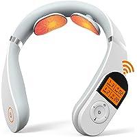 Masseur Cervical, Masseur de Nuque Portable SHEON, Appareil de Massage de Cou Intelligent à Impulsion électrique Avec…