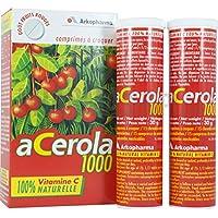 Acerola 1000 Goût Fruits Rouges 30 comprimés à croquer