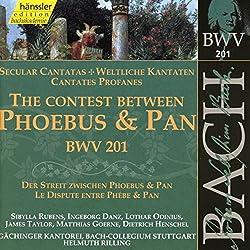 Edition Bachakademie Vol. 61 (Weltliche Kantate Bwv 201)