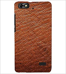 PrintDhaba Leather D-2071 Back Case Cover for HUAWEI HONOR 4C (Multi-Coloured)