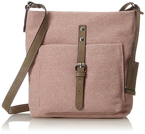 Esprit Accessoires Damen 998ea1o801 Schultertasche, Pink (Light Pink), 6x24x22 cm