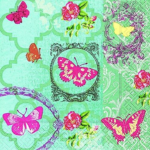 Paper + Design Tovaglioli Da Tavola Design Butterfly Garden