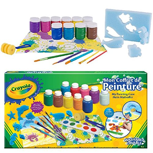 Crayola 54-9039-e-000 Kit de Loisir créatif mallette de peinture refresh 0071662903909
