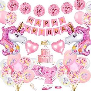 specool Unicornio Decoración de cumpleaños