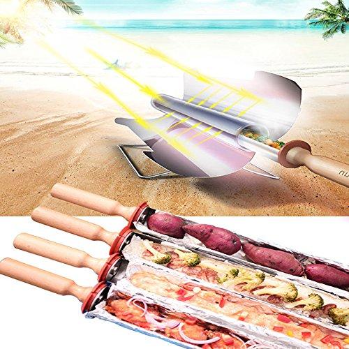 MaMaison007-Campeggio-forno-solare-portatile-Barbecue-Grill-Barbecue-stufa-Picnic-cibo-riscaldatore-Kebab-arrosto-della-graticola