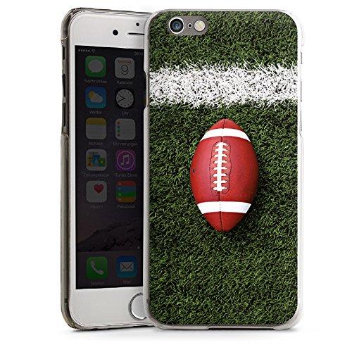 Apple iPhone 4 Housse Étui Silicone Coque Protection Football Field Goal Sport CasDur transparent