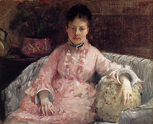 Das Museum Steckdose–Das Rosa Kleid (auch bekannt als Poop)–1870–Leinwand Print Online kaufen (76,2x 101,6cm)