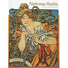 Alphonse Mucha Cb131 (Pomeganate Colouring Book)