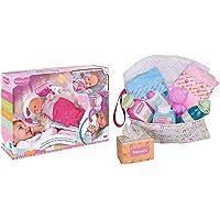 Nenuco- Dormi con Me con Baby Monitor, 700014485 &Famosa Nenuco Accessori per Bambole