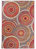 Benuta In- & Outdoor-Teppich Artis Orange 200x285 cm - Outdoor-Teppich für Balkon & Garten