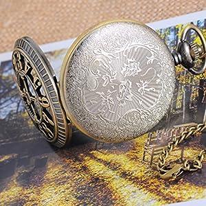 Souarts estilo vintage reloj de bolsillo por Hello_Craft