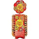 Chupa Chups Ruota Lecca Lecca, Lollipop Frutti Assortiti Gusto Fragola, Ciliegia, Arancia, Lampone, Vaniglia, Cola e Panna Fr
