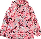 Name it Mädchen Wind- & Regenjacke Übergangsjacke Schmetterling NKFMELLO 13153796 flamingo pink Gr.140