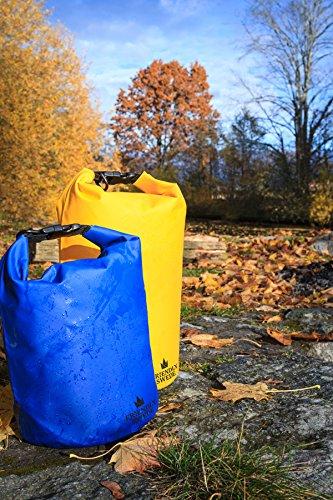 Wasserfester Packsack im Test: Erfahrungen und Funktionen - 8