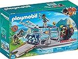Playmobil-9433 Hidro Deslizador con Jaula, (9433)