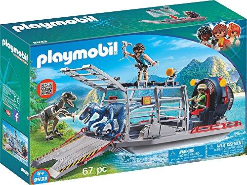 Playmobil 9433 - Barca con Gabbia per Dinosauri