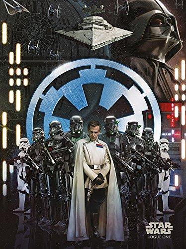Star Wars Rogue One–Empire 60x 80cm Leinwanddruck, mehrfarbig