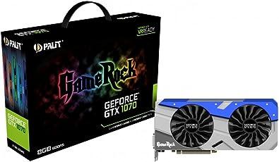 "Palit NE51070T15P2G GeForce GTX 1070 ""GameRock"" Grafikkarte"