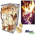FEUER - GAMBIONE ® das besondere Schwedenfeuer für Garten - Party, Feste und Events von MGS SHOP® - Lampenhans.de