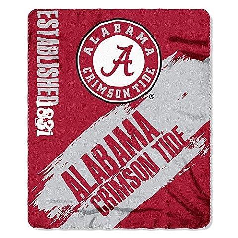 Alabama Crimson Tide NCAA Fleece 50x 60 Throw Blanket by Northwest