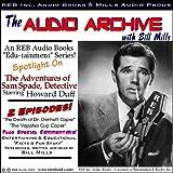 A Sam Spade Audio Double-Feature Starring Howard Duff, Volume 1