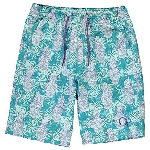 junior-boys-summer-all-over-print-skull-swim-shorts-11-12-yrs-green