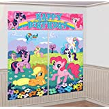 My Little Pony Giant Scene Setter Wall Decorating Kit Birthday Party
