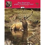 Rien Poortvliets großer Tierkalender 2017