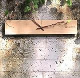 WTL wall clock Loft in legno Personalizzato creativo minimalista Art Clock Soggiorno Un laboratorio di legno