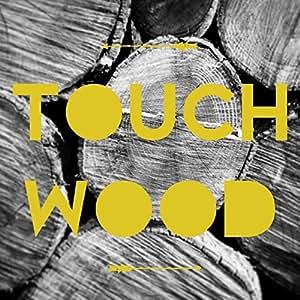 """Idiomatik """"Touch""""-Carte de voeux-bois"""