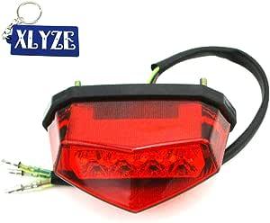 Xlyze 12 V Led Rücklicht Bremslicht Für Chinesisches Nst Sunl Taotao Roketa Atv Quad 4 Räder Dirt Monkey Bike Motorrad Auto