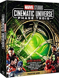 Marvel Studios Cinematic Universe : Phase Trois - Partie Une [Blu-ray] (B07GVXHRRH) | Amazon Products