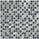 Dal-Tile 5858MS1P-SA59 Stone Radiance Tile, Glacier Gray Marble Blend
