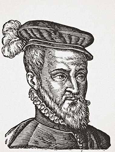 Ken Welsh / Design Pics - Joachim Du Bellay C. 1525 _ 1560. French Poet Critic And A Member Of The Pl_iade. From Science And Literature In The Middle Ages By Paul Lacroix Published London 1878 Photo Print (30,48 x 40,64 cm) -