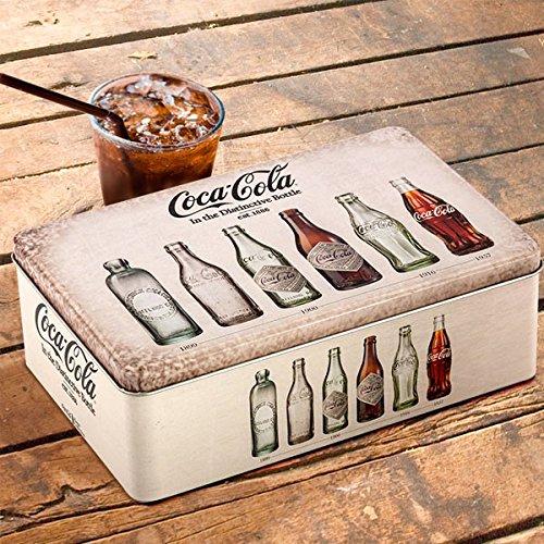 OUTLET Caja Vintage Metálica Coca-Cola (Sin Embalaje)