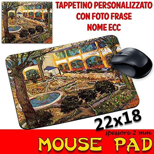 csm Informatica Mauspad Maus Pad Personalisierbar SP 2mm Kollektion Van Gogh Garten von Arles -