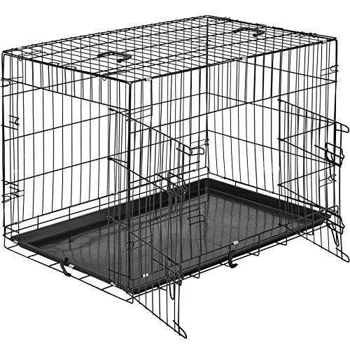 TecTake Cage de Transport pour Chien-Box grillagé | 2...