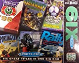 Picture Of The Big 6ix (Six) Volume 3 PC CD-ROM (Fishermans Paradise, Shooting Clays, World Soccer Challenge 98, Rally Championship, Picture Perfect Golf, Sensible Soccer).