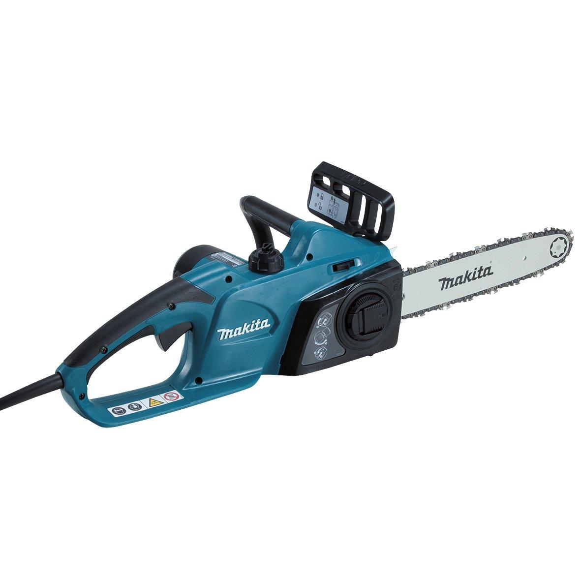 Makita UC4041A 1800W 7820RPM power chainsaw - power chainsaws (76.2 / 8 mm (3 / 8), Black, Blue)