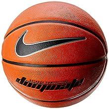 Nike Dominate basketball, Amber/Black, 7