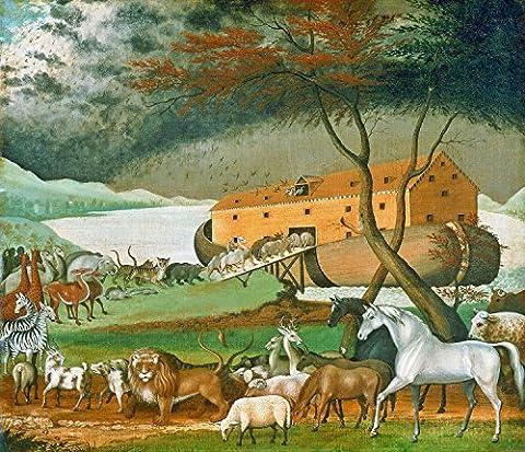 Noahs Ark - By Edward Hicks - Giclee Canvas Prints 16