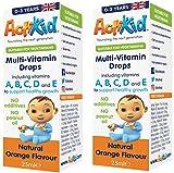 ActiKid Multi-Vitamin Drops fornisce una gamma completa di 10 vitamine e minerali formulati per sostenere una crescita sana nei bambini da 0 a 3 anni: - Contiene 5mcg di vitamina D necessaria per la normale crescita e lo sviluppo di ossa forti. - Ha ...
