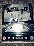 Fast & Furious 8 4K Ultra HD UK Exclusive Limited Edition Steelbook Includes 2D Version + Digital Download Blu-ray Sold Out