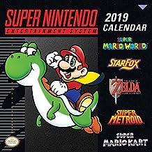 Super Nintendo Entertainment System 2019 Calendar: Retro Art from the Original Super Nes