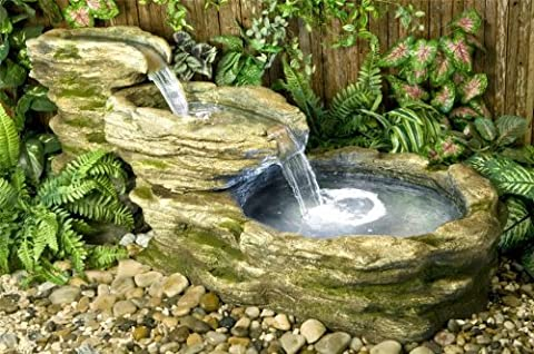 Stone River Water Feature with