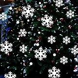 Upxiang Wand Fenster Aufkleber Engel Schneeflocke Weihnachten Kunst Dekoration Decals Party Deko