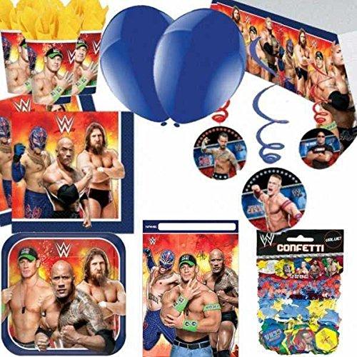 WWE Ultimate Artículos Para Fiestas Pack Para 8