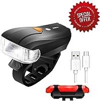 LED Illuminazione Bicicletta, SGODDE 400 Lumen Sensori Intelligenti Superhell Lampada Impermeabile Della Bicicletta Luce...