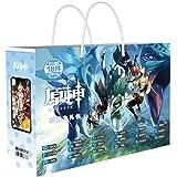 Anime Impact Bag include adesivi fai da te per cellulare, segnalibro, biglietto di auguri, borsa a mano